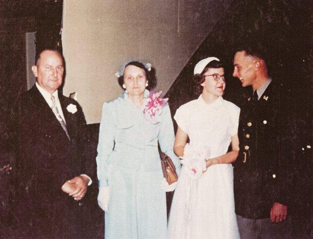 Dottie and Dale Washburn_Wedding