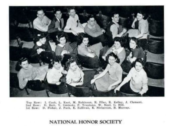 Dottie Fisher_National Honor Society