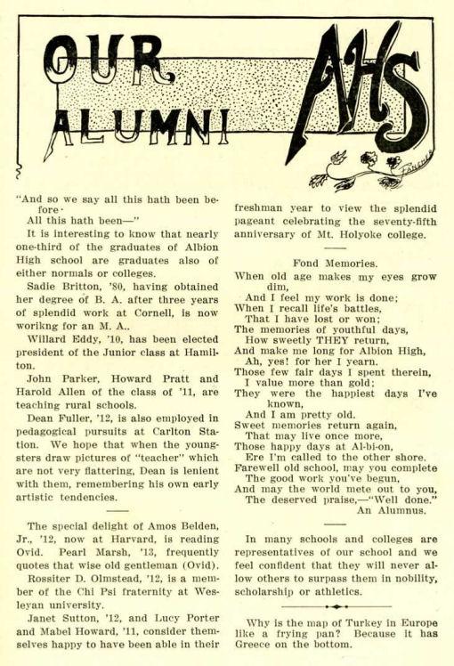 1913_Alumni news_Howard Pratt
