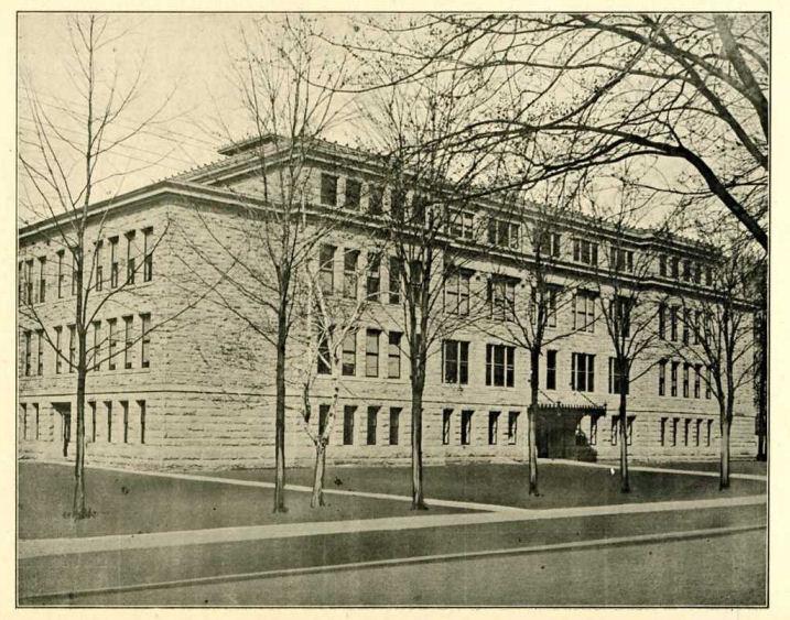 1913_old HS_old Grammar School