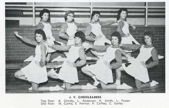 1961_JV Cheerleaders