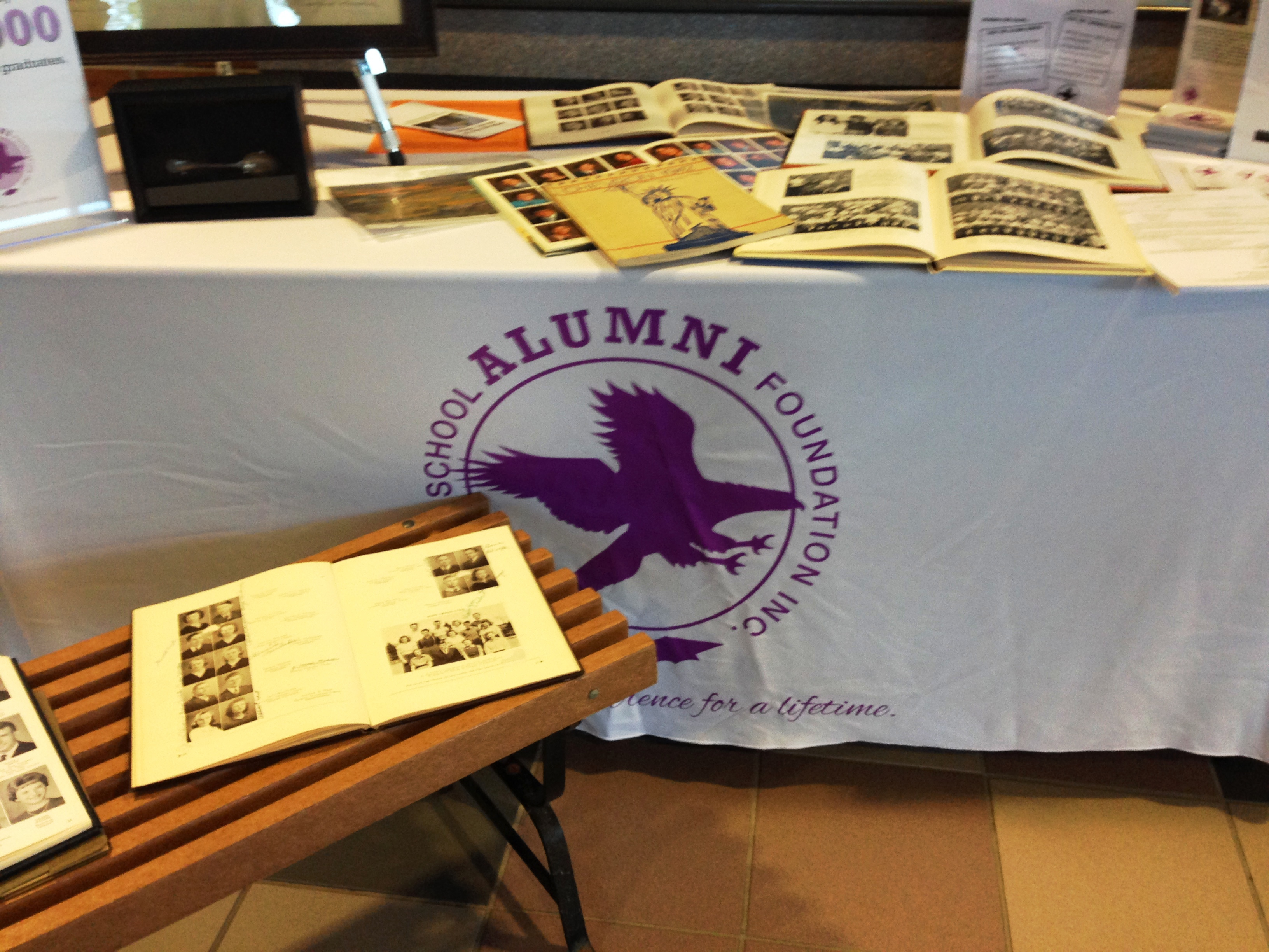 Alumni Booth_Chevrons