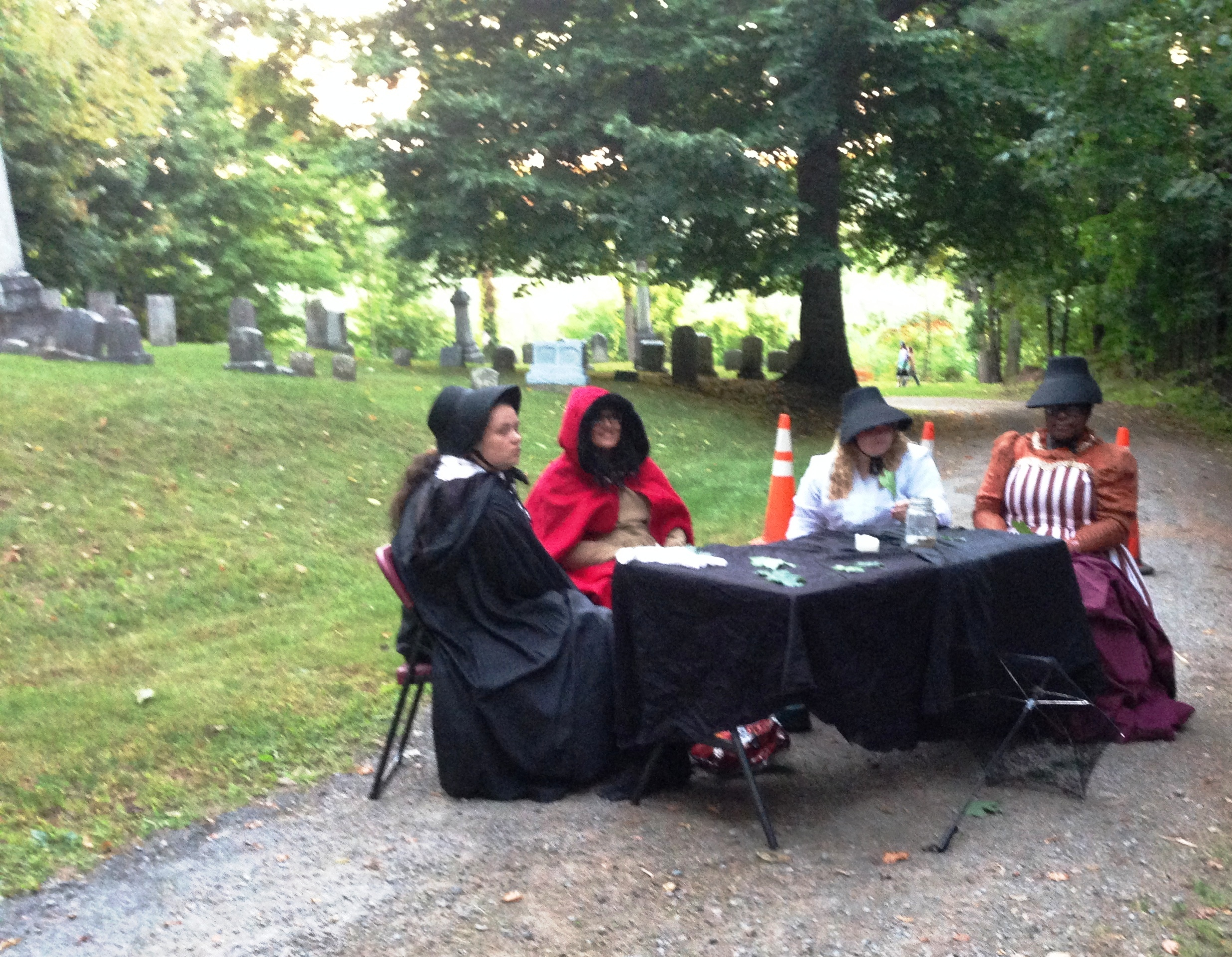 Picnic in the Cemetery