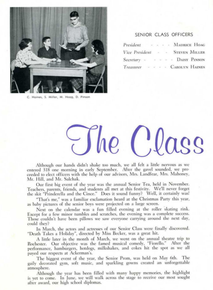 Throwback Thursday_1961_class officers